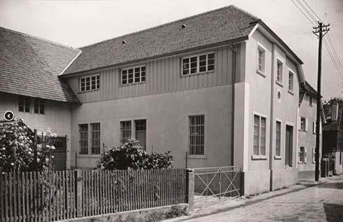 Das Atelier Traumina im Jahr 1921